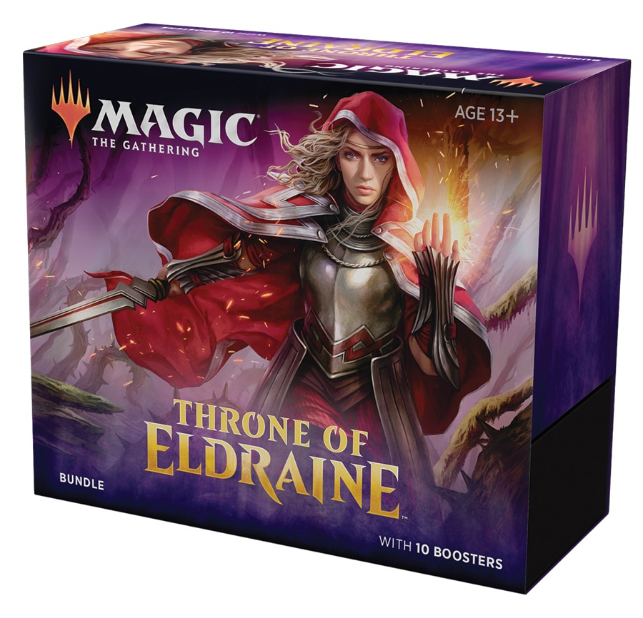 Фотография MTG: Bundle набор издания Throne of Eldraine (Престол Элдраина) англ [=city]